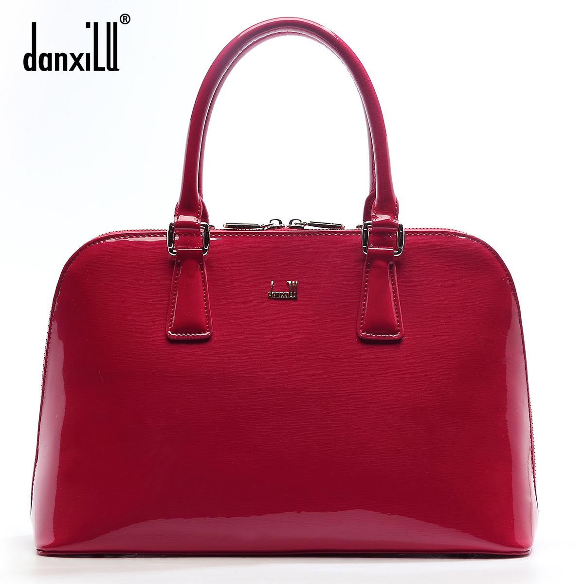Фотография Danxiu Famous brand top quality leather women bag summer new fashion shoulder Messenger Bag Shell package Handbag
