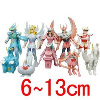 2014 Saint Seiya Action Figures PVC Mini Cute Anime Saints Model Classic toys Collection Best Gift 10pcs/set - Bechan Toy store