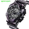 Sanda S Shock Men Sports Watches 30M Swim LED Digital Military Watch Fashion Outdoor Wristwatches Waterproof