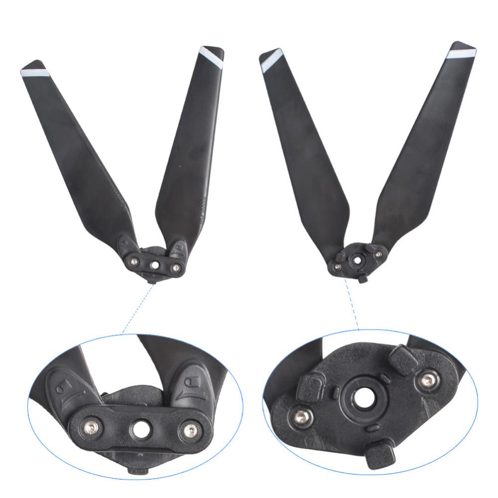 2pair Mavic Pro Quick-Release Folding Propellers Blades for DJI Mavic Pro Cemara Drone RC Quadcopter spare parts