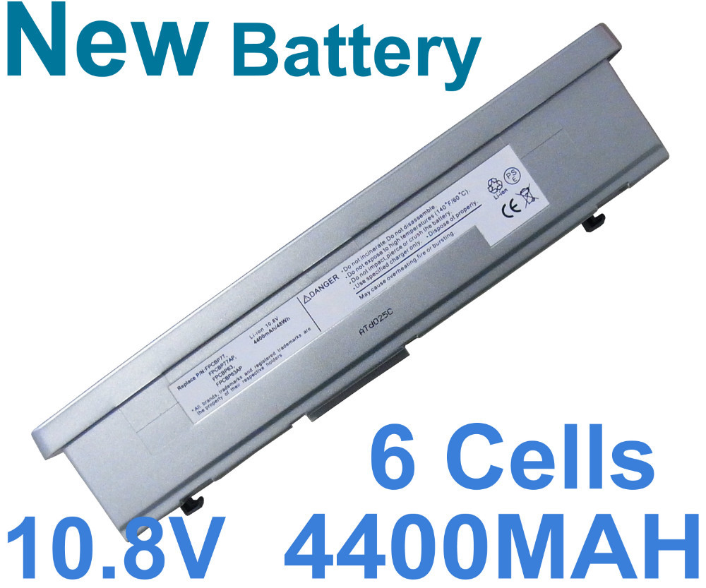 Battery For Fujitsu Stylistic ST5022D ST5010 ST5011 ST5111 ST5112 FPCBP77AP FPCBP97AP 6Cells 4400MAH(China (Mainland))