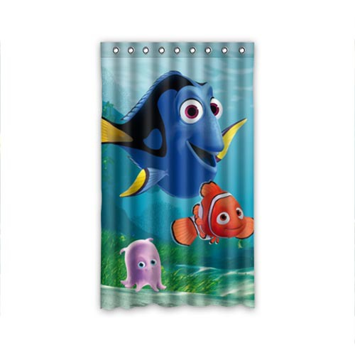 new style Finding Nemo 50x84 inch window curtains curtain for living ...