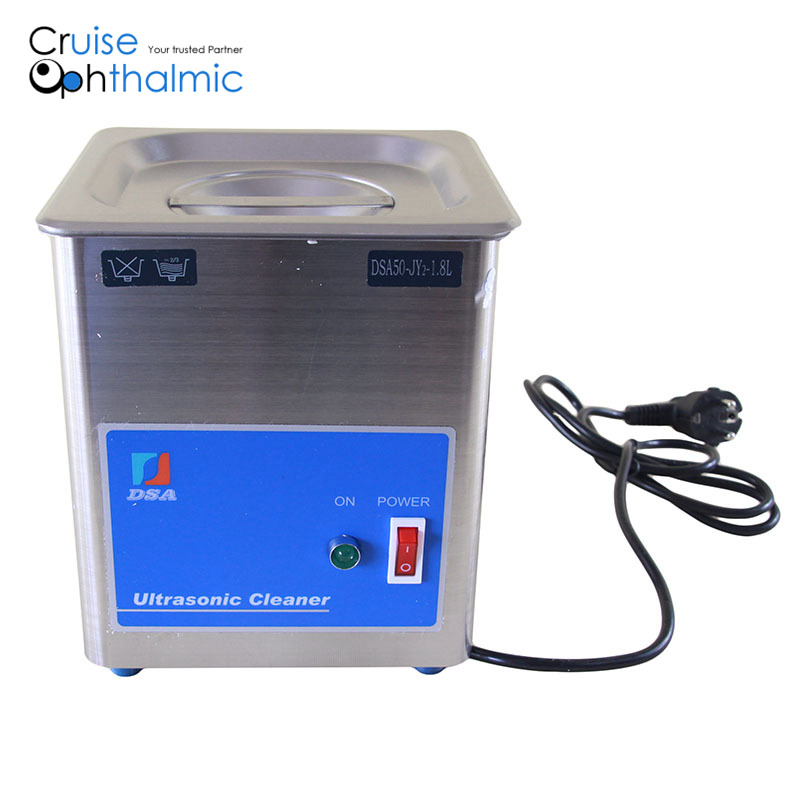 Stainless Steel 1.8L Industrial Grade Powerful Ultrasonic Cleaner for eyeglasses optometric tools(China (Mainland))