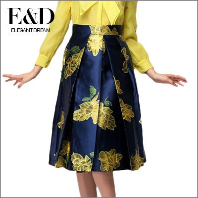 Женская юбка Elegant dream 2015 saias faldas D770 женская юбка saias 2015