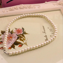 Buy New Arrival Imitation Pearl Necklace Women Necklace Beads Jewelry Fashion Jewelry Party Gift Elegant Generous for $1.00 in AliExpress store