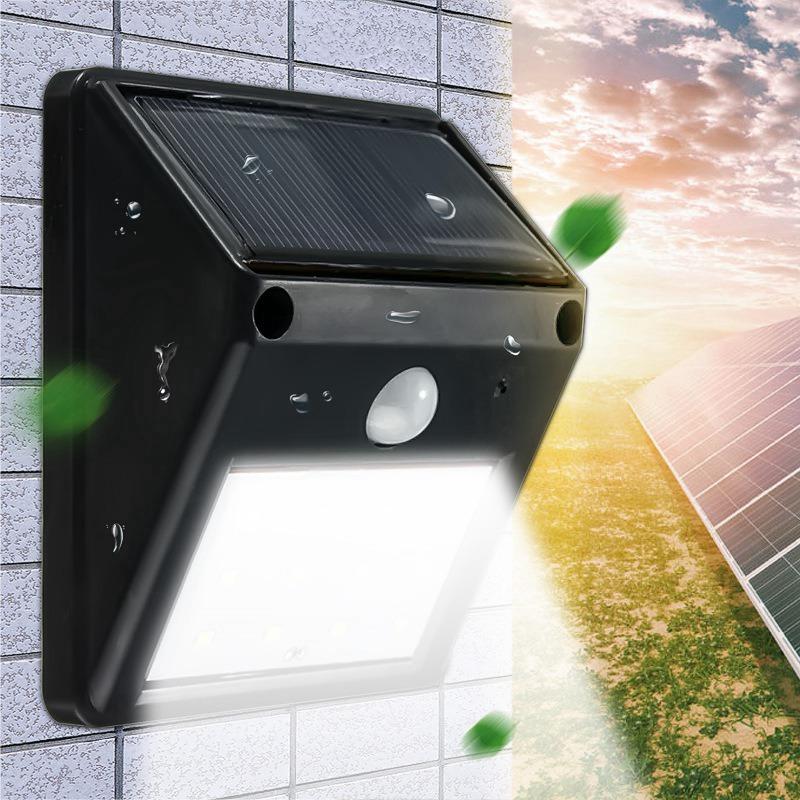 Waterproof Wireless PIR Motion Sensor 12 LED Solar Light Outdoor Solar Powered Garden Light Landscape Yard Wall Lamp(China (Mainland))