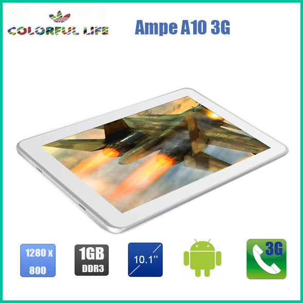 10 inch Tablet Pc AMPE A10 3G GPS+Bluetooth+Dual Camera(China (Mainland))