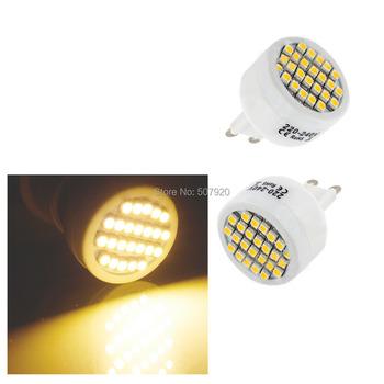 G9 24 SMD LED lamp LED spotlight High Power Warm White Bulb Lamp 220-240V Item No.A088