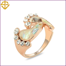 SI 2014 Fashion Jewelry New Arrival/ Foot Style Ring/Rhinestone 18K Gold Plated Pretty  For Women/For wholesale(China (Mainland))