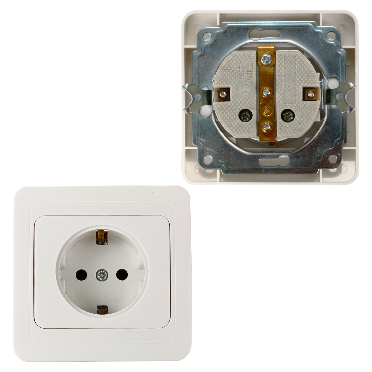 germany power socketwiring receptacle power outlet schuko outlet bi131 in electrical plugs