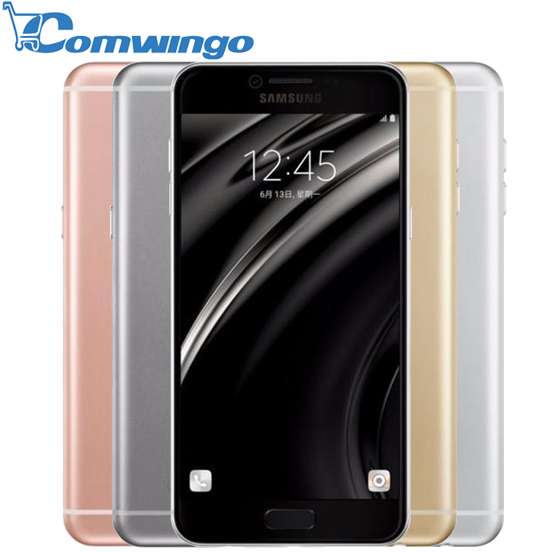 New Original Samsung Galaxy C5 Mobile Phone 5.2 inch Octa-Core 4GB RAM 32GB/64GB ROM LTE 16MP Android 2600mAh Dual SIM Phone(China (Mainland))