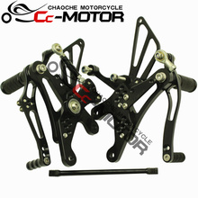 Buy Motorcycle Rear Set Rearset Foot Pegs Bracket Yamaha YZF1000 R1 1998-2003 98-99-00-01-02-03 for $119.89 in AliExpress store