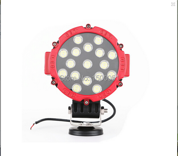 Hot Sale 4x4 LED work light CE RoHs Approved IP67 DC 10-30V DC 63w led working light<br>