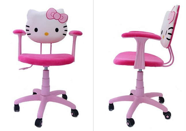 Chaise de bureau hello kitty for Bureau hello kitty