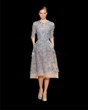 Nuovo Arriva Royal Blue Pizzo Squisito In Rilievo Appliques Abiti Homecoming Grazioso Mezza Manica Prom Dresses 2016 Vestido De Noiva(China (Mainland))