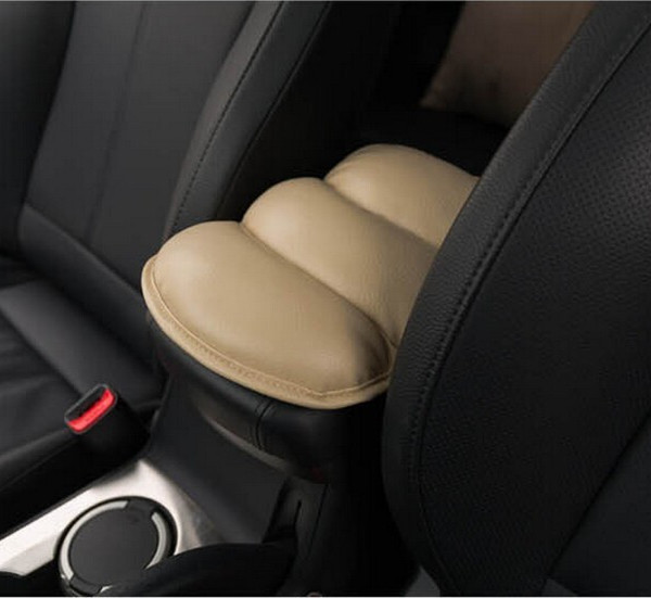 Car Center Console Armrest Pad Soft PU Cushion For Chevrolet Cruze VW Opel Toyota Skoda Octavia Mazda Renault Auto Accessories(China (Mainland))