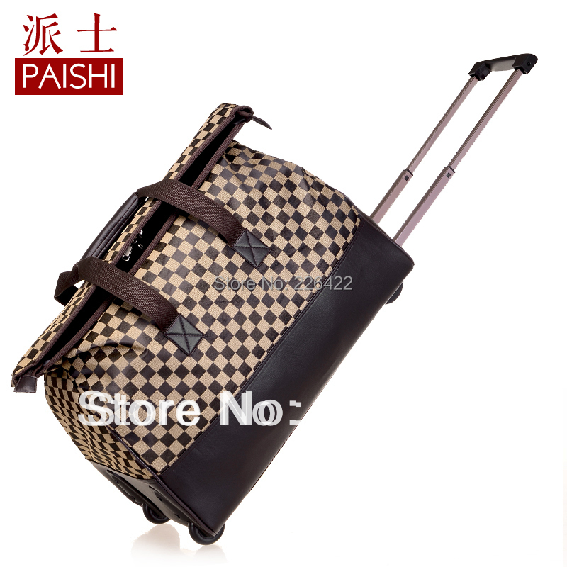 New arrival PAI SHI 2013 rolling trolley large capacity travel bag waterproof luggage HOT SELL free shipping<br><br>Aliexpress