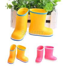 Fashion Rain Boots Shoes Wellies for 18 inch American Girl / Our Generation / Journey Girl Dolls(China (Mainland))