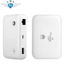 Original HUAWEI E5730s Mew King 3G Wireless Fixed Line Dual Acess Wifi Router Hotspot 5200 mAh Power Bank White(China (Mainland))