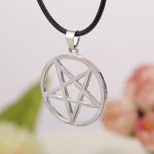 Daren Design Inverse Pentagram Pendant Kuroshitsuji Hunter Van Helsing Hell Satan Logo Necklace Jewelry Wholesale