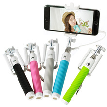 High Quality Extendable Handheld Self-portrait Monopod For iPhone For Samsung For HTC For SONY(China (Mainland))