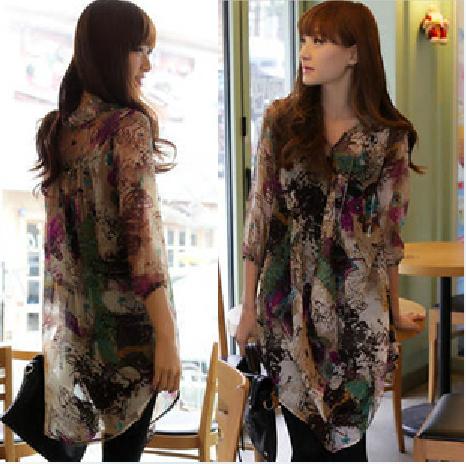 Женские блузки и Рубашки Brand new 7 S/M/L Q5212 женские блузки и рубашки brand new s m l xl