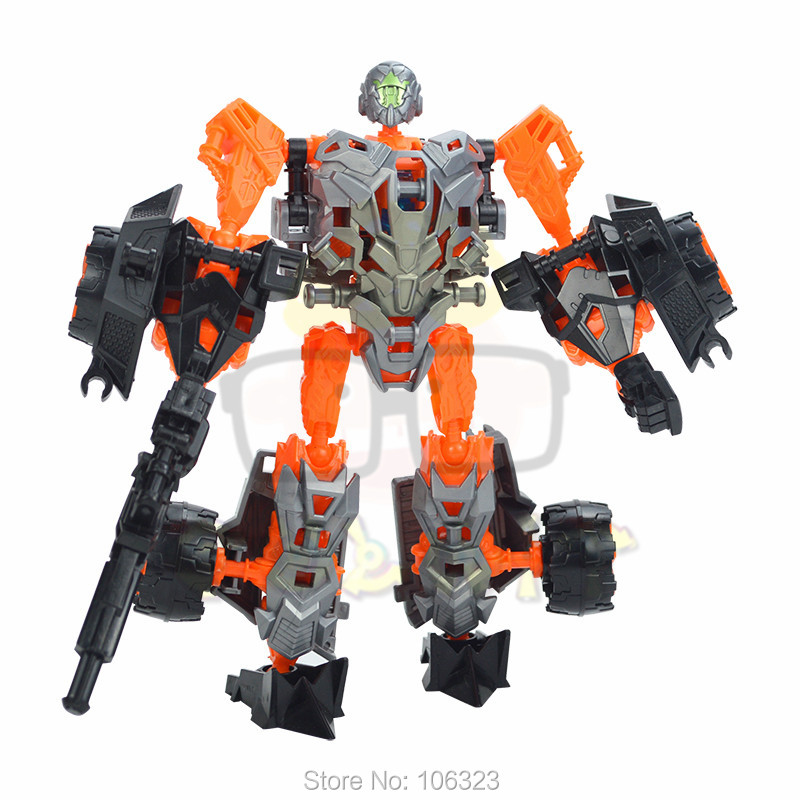Deformation Warrior Toys, Transformation Car Team, Variant Autobots Educational Model, Assemble Robot Boy Child New Year Present(China (Mainland))