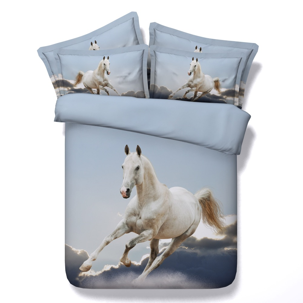 Online buy wholesale quilt twin from china quilt twin for Housse couette cheval