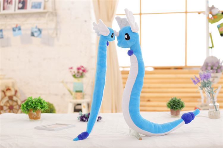 9 Styles Pocket Monster Plush Toy LAPRAS Dragonair DRAGONITE Doll Birthday Christmas Gifts For Girl Boy Kidz Free Shipping