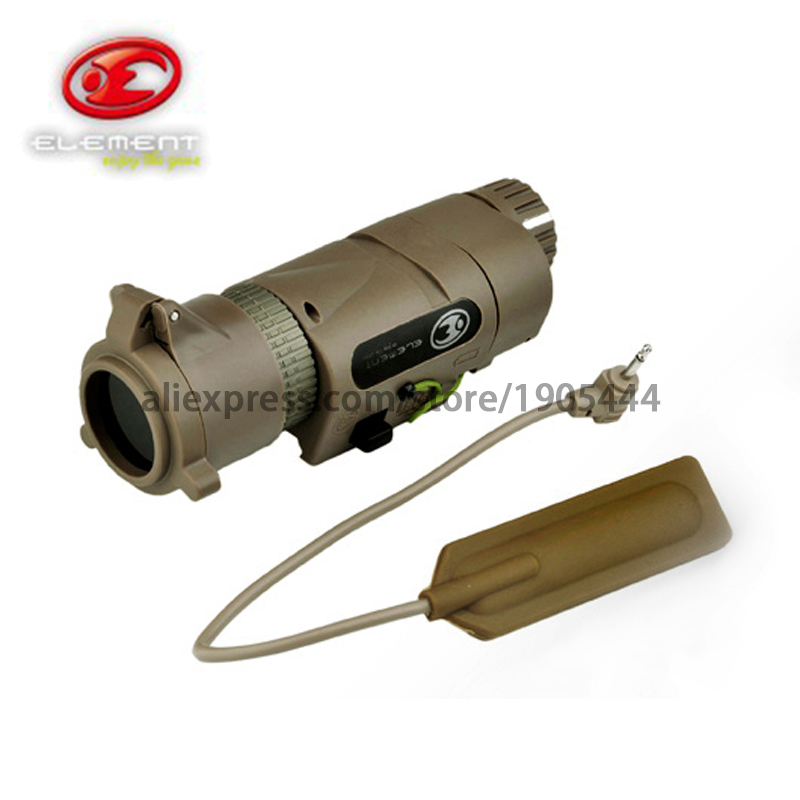 EX 175 Element L-3 Warrior Systems Flash light M3X Tactical Illuminator Long new Version Tactical torch<br><br>Aliexpress