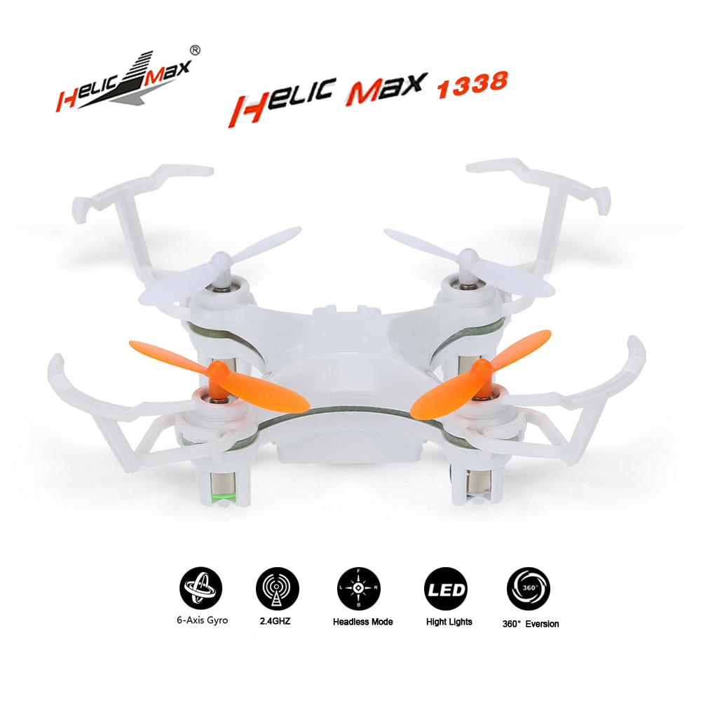 Brand Helicmax 1338 2.4G 4CH 6 Axis Gyro Mini Drone Quadcopter Aircraft RC Planes for Beginners with Headless Mode Auto-return(China (Mainland))
