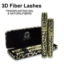 Original Waterproof Love Alpha Younique 3d Fiber Lashes Mascara Makeup Brand Set Maquiagem Rimel Leopardo De Cilios Mascaras(China (Mainland))