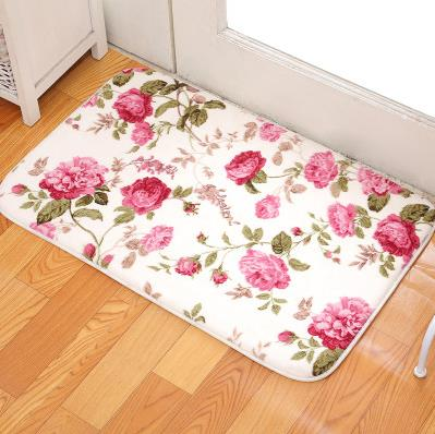 Online get cheap corail tapis rose for Tapis salle de bain rose