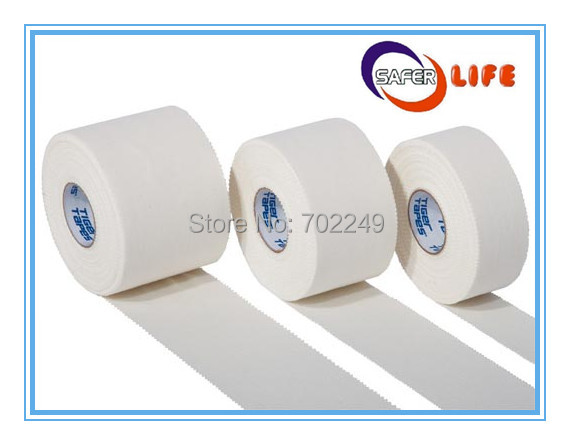 3.8cm x 10m Hypoallergenic Strapping Support Tape Bandage sports medical Strappal Adhesive Tape(China (Mainland))