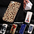 Leopard Supreme Soft TPU Cover Cases For Apple iphone6 for iphone 6 6s 4 7 Silicone