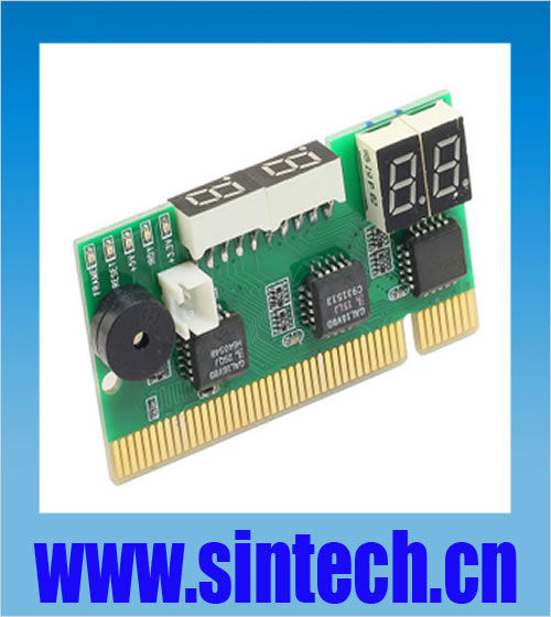 mini size Two side abserve PCI PC motherboard diagnostic post debug test card for Desk pc(China (Mainland))