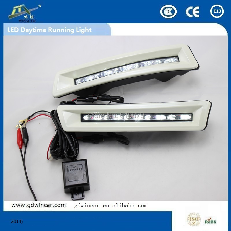 Ultra Bright Factory Supply LED DRL  for Toyota Land Cruiser Prado 2700  FJ150 LC150 LED Special DRL<br><br>Aliexpress