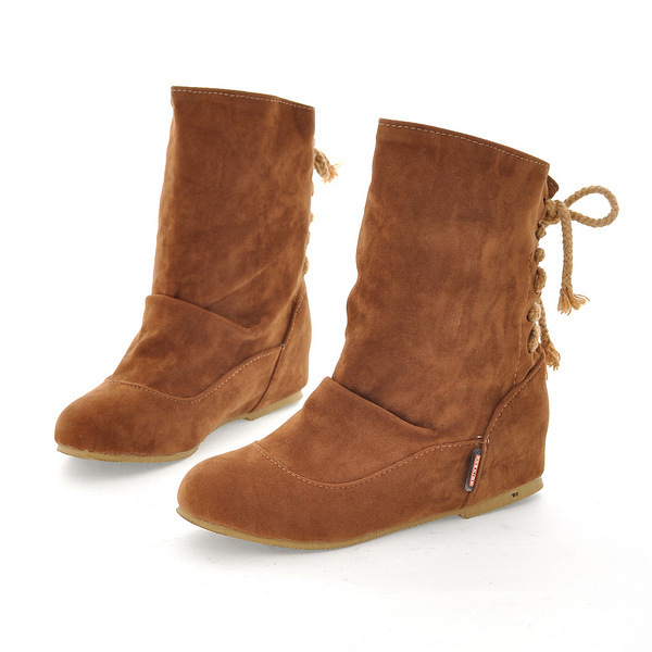 Brown Flat Boots Women | FP Boots