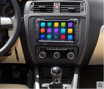 HD 1024*600 2 din PC Car DVD GPS For Volkswagen VW Golf Passat Polo Jetta Santana Tiguan Fabia Touran Sagitar Octavia Seat(China (Mainland))