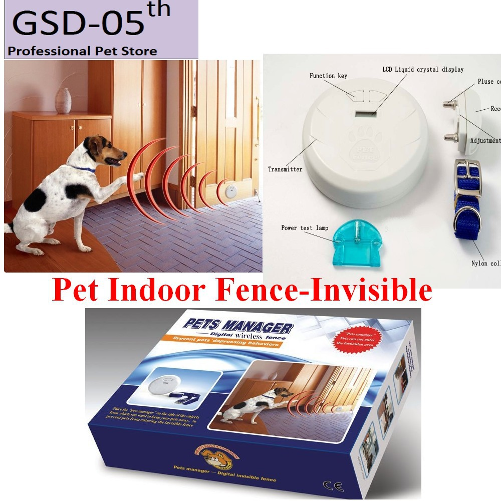 best lcd display digital invisible wireless fence pet dog cat manager pet trainer