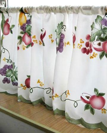 kitchen curtains sheer Picture - More Detailed Picture about Cute ...