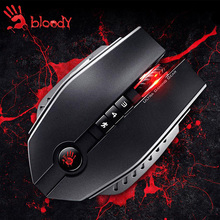 Buy A4tech Bloody ZL50 professional gaming mouse 8200 DPI LOL Dota CF game mice FPS RPG mouse gaming computer USB Wired mouse gamer for $60.00 in AliExpress store