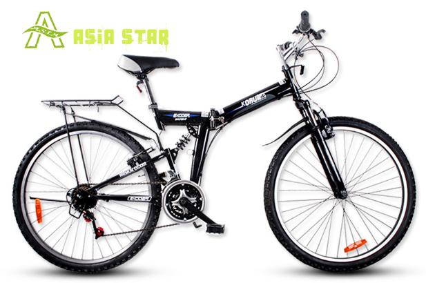 Excider brand bicycle casual folding mountain bike 26 21 korun