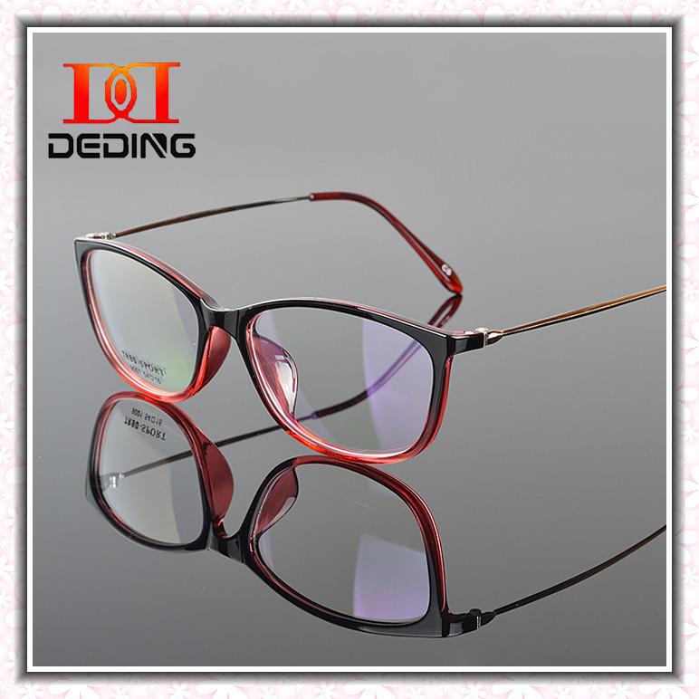 TR90 Frame Ultrafine Metal Legs Eyeglasses Frame Women ...
