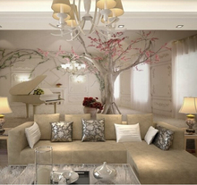 Custom any size 3D wall mural wallpapers for living room,Modern fashion beautiful 2015 new photo murals tree wallpaper(China (Mainland))