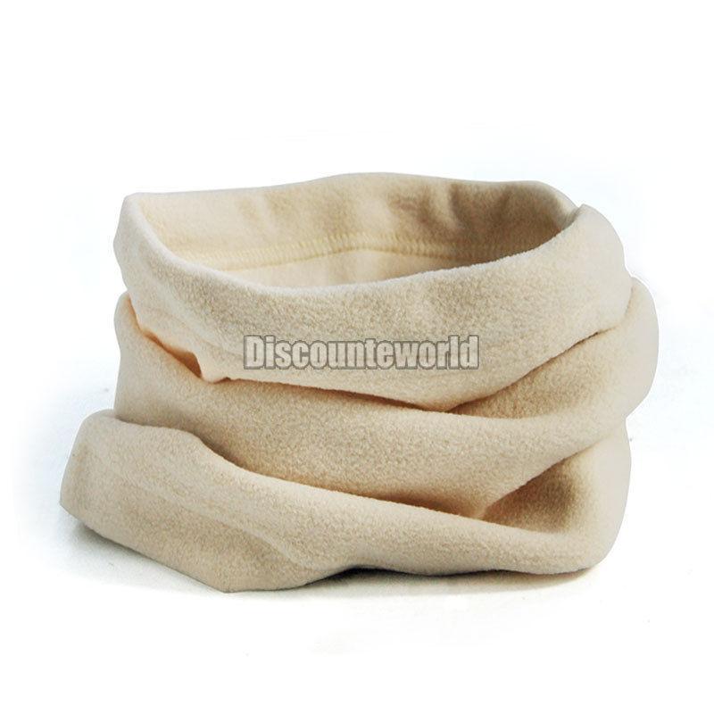 New 3 in 1 Multifunctional Scarf Unisex Men Women Thermal Warm Fleece Snood Scarf Neck Warmer