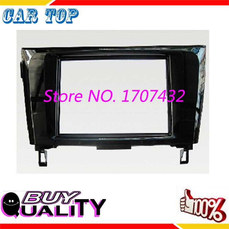 2 Din Car Audio Frame,Dash Kits, DVD Panel,Fascia, Adaper Kit, Radio Frame,Facia Nissans 2014 X-Trail Qashqai - Guangzhou Top Auto Parts Co., Ltd. store