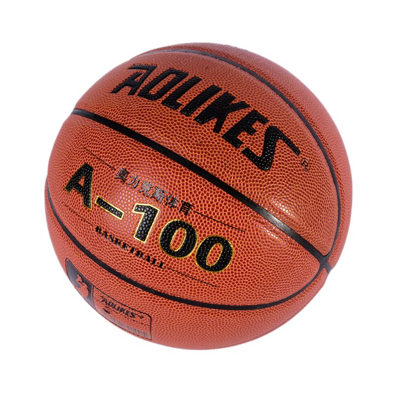 Official Size PU Indoor Outdoor Leather Basket Basketball Ball Training Equipment+Ball Pump+Net Nag+Pin(China (Mainland))