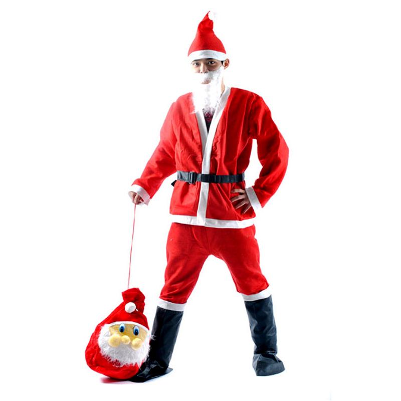New arrival men christmas costumes suit