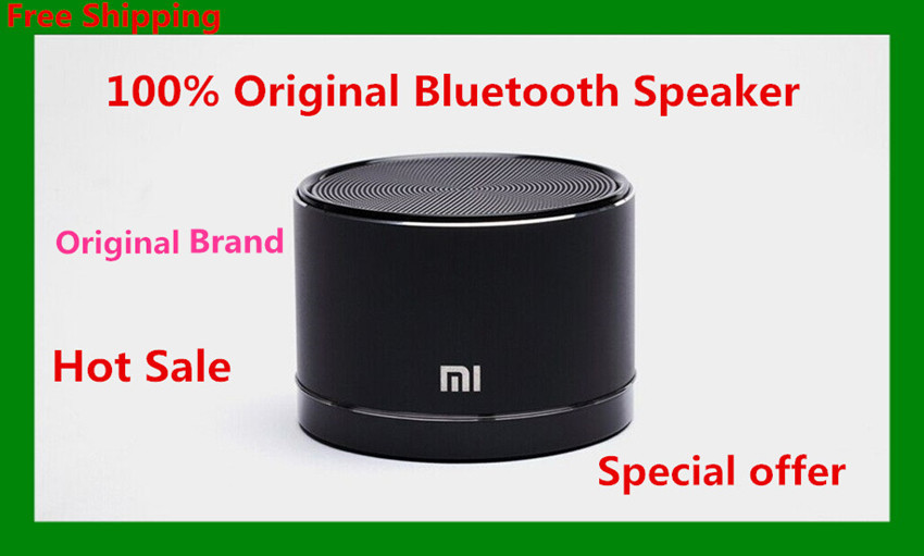 2015 Original Xiaomi Portable Wireless Bluetooth Speaker Small Steel gun Speakers For iPhone Samsung Smartphone For Tablet PC(China (Mainland))